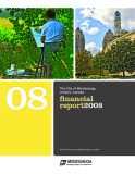 THE CITY OF MISSISSAUGA, ONTARIO, CANADA FINANCIAL REPORT 2008