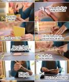 Tự làm sổ ghi chú đơn giản mà đáng yêu