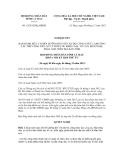 Nghị quyết số 15/2012/NQ-HĐND