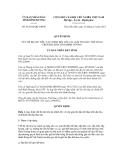 Quyết định số 61/2012/QĐ-UBND