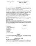 Thông tư số 52/2012/TT-BGDĐT
