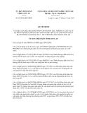 Quyết định số 69/2012/QĐ-UBND