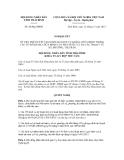 Nghị quyết số 26/NQ-HĐND