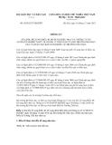 Thông tư số 50/2012/TT-BGDĐT