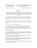 Thông tư số 29/2012/TT-BLĐTBXH