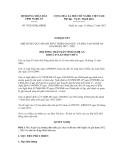 Nghị quyết số 70/2012/NQ-HĐND