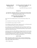 Nghị quyết số 92/2012/NQ-HĐND