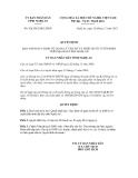 Quyết định số  92a/2012/QĐ.UBND