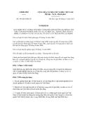 Nghị định số 103/2012/NĐ-CP