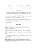 Quyết định số 1306/QĐ-BNV