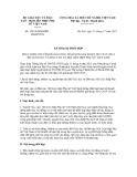 Kế hoạch số 1343/KH/BGDĐTHLHPNVN
