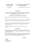 Quyết định số 3024/QĐ-CT