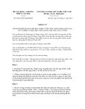 Thông tư số 36/2012/TT-BLĐTBXH