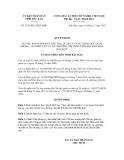 Quyết định số 2136/2012/QĐ-UBND