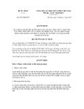 Quyết định số 3887/QĐ-BTP