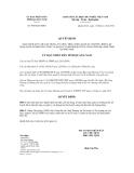 Quyết định số 4093/QĐ-UBND