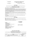 Quyết định số 3299/QĐ-BTC