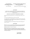 Quyết định số 6219/QĐ-UBND