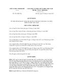 Quyết định số 1831/QĐ-TTg
