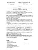 Quyết định số 1756/QĐ-BKHĐT