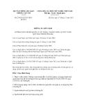 Thông tư liên tịch số 230/2012/TTLT-BTCBGTVT