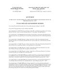 Quyết định số 6358/QĐ-UBND