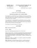 Quyết định số 2379/QĐ-BTTTT