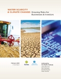 Ebook Water scarcity & climate change: Growing risks for businesses & investors