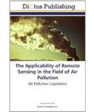The Applicability of Remote Sensing in  the Field of Air Pollution