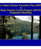 Template for preparing a Storm Water  Pollution Prevention Plan  For  Auto Salvage Yards