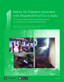 Indoor Air Pollution Associated with Household Fuel Use in India: An exposure assessment and modeling exercise  in rural districts of Andhra Pradesh, India