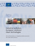 Industrial pollution,  European solutions: clean technologies