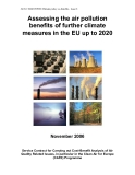 Assessing the air pollution  benefits of further climate  measures in the EU up to 2020