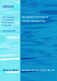 Research Report Series No. 18: The water footprint of  cotton consumption