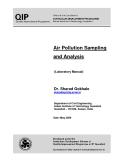 Air Pollution Sampling  and Analysis (Laboratory Manual)