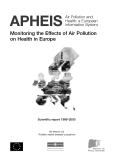 APHEIS- Monitoring the Effects of Air Pollution  on Health in Europe