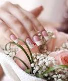 Mẹo chăm sóc móng tay trước ngày cưới