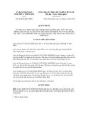 Quyết định số 42/2012/QĐ-UBND