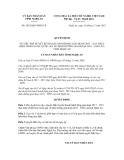 Quyết định số 5492/QĐ-UBND.VX