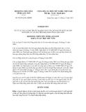 Nghị quyết số 94/2012/NQ-HĐND