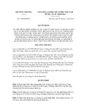 Quyết định số  7360/QĐ-BCT