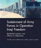 Sustainment of Army Forces in Operation Iraqi Freedom - Major Findings and Recommendations