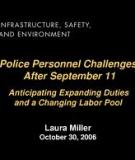 Police Personnel Challenges After September 11 -  Anticipating Expanded Duties and a Changing Labor Pool