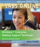 Windows 7 Enterprise Desktop Support Technician Updated First Edition Textbook