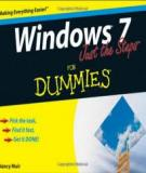 Book Windows 7 Just the Steps For Dummies