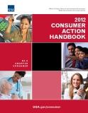 2012 CONSUMER ACTION HANDBOOK: BE A SMARTER CONSUMER