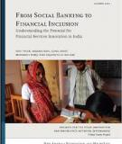 REPORT OF THE COMMITTEE ON FINANCIAL INCLUSION