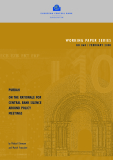 WORKING PAPER SERIES NO 868 / FEBRUARY 2008: PURDAH ON THE RATIONALE FOR CENTRAL BANK SILENCE AROUND POLICY MEETINGS