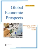 Global Economic Prospects - Managing growth in a volatile world