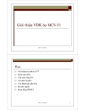 Giới thiệu vi điều khiển họ MCS-51